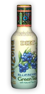 Diet Blueberry Green Tea