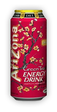 Diet Green Tea Energy Drink