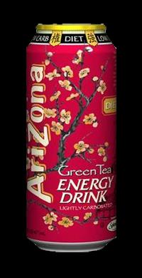 Diet Green Tea Energy Drink