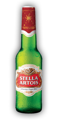 Stella Artois Holiday Edition