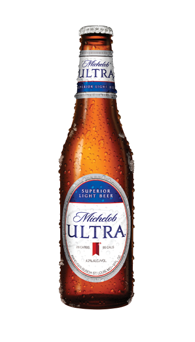 How much alcohol in michelob ultra