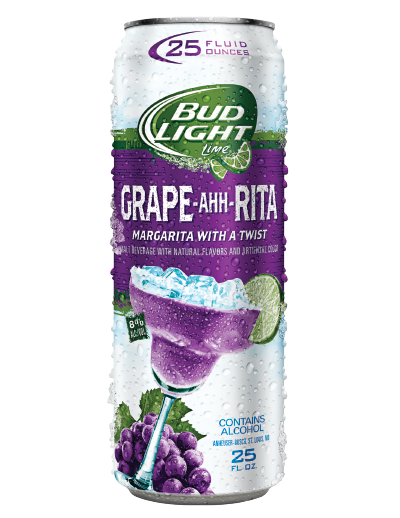 Bud Light Lime Grape-Ahh-Rita