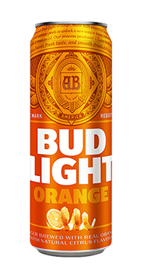 Bud Light Orange Peels