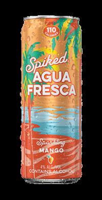 Spiked Agua Fresca Sparkling Mango