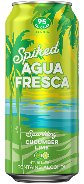 Spiked Agua Fresca Cucumber Lime