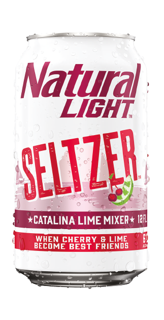 Natural Light Seltzer Catalina Lime Mixer