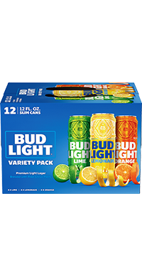 Bud Light Lemonade, Lime & Orange Variety Pack