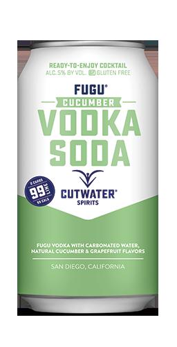 FUGU Cucumber Vodka Soda