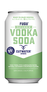 FUGU Cucumber Vodka Soda