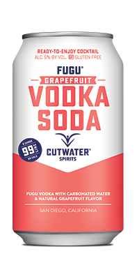 FUGU Grapefruit Vodka Soda