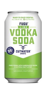 FUGU Lime Vodka soda