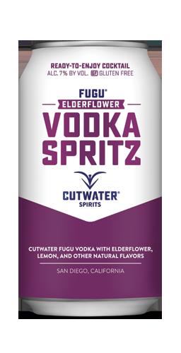 FUGU Elderflower Vodka Spritz