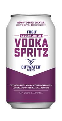 FUGU Elderflower Vodka Spritz