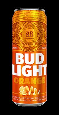 Bud Light Orange Peels