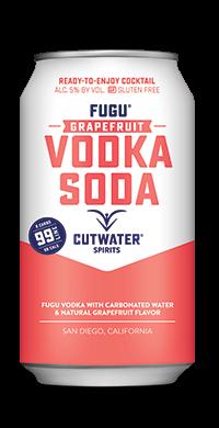 FUGU Grapefruit Vodka Soda