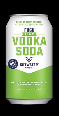 FUGU Lime Vodka soda