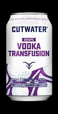 Cutwater Grape Vodka Transfusion
