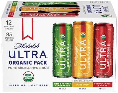 Michelob Ultra USDA-Organic Beer Variety Pack